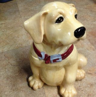 Labrador Retriever Dog Cookie Jar