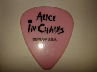 Alice in Chains Layne Staley Guitar Pick 93 Lollapalooza