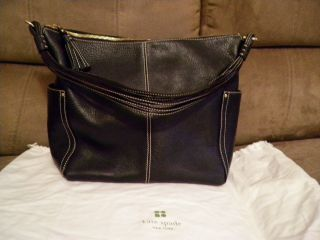 Kate Spade Black Leather Handbags Purses Bags