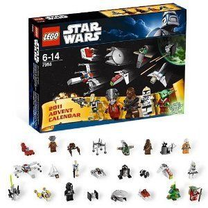 Lego Star Wars Advent Calendar Christmas Holiday Set Fast SHIP New