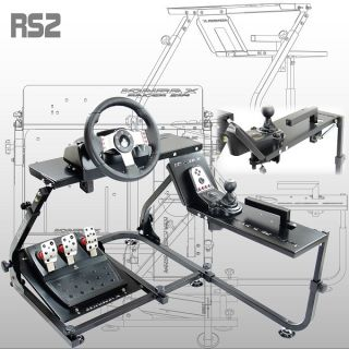 Racing Simulator Steering Wheel Stand RS2 For Logitech G25 G27 XBOX