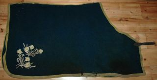 WW1 Cavalry Lothian Borders Horse Shabraque Chargers Blanket