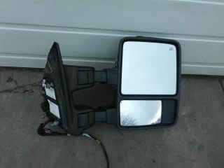 2008 Ford F250 F350 Super Duty Right Door Mirror RH RF Memory Heated