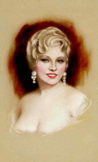 Mae West Personality Art Poster Unik at