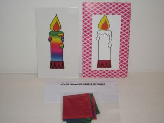 Candle in Frame Magic Trick Great Kids Magic Very Colorful
