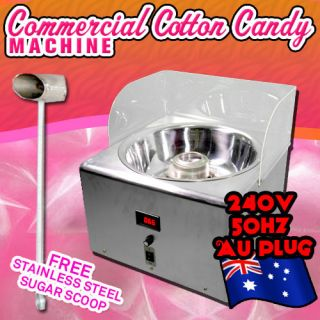 Cotton Candy Machine Commercial Floss Maker 240V 50Hz AU