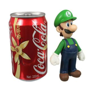 Nintendo Super Mario Bros Luigi Action Figure Toy Green