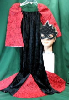 Masquerade Dress Custom Handmade Halloween Costume Mask