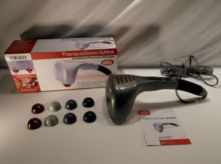 PA 1H Therapist Select Ultra PERCUSSION Massager w Heat Body Massage