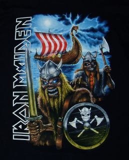IRON MAIDEN 2006 Matter of Life and Death Nordic Concert Tour T Shirt