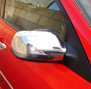 03 MAZDA 2 3 6 CHROME SIDE DOOR MIRROR COVER TRIM AXELA ATENZA DEMIO