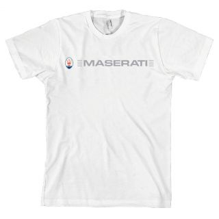 Maserati Car Logo American Apparel T Shirt Granturismo All Sizes New