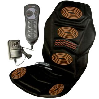Heated Back Seat Massage Cushion for Chair Van Car Massagers