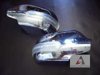 10 11 MAZDA 2 3 6 MAZDA2 MAZDA6 LED CHROME SIDE DOOR WING MIRROR COVER
