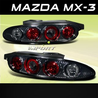 92 96 Mazda MX3 GS Hatchback Smoke altezza Tail Lights