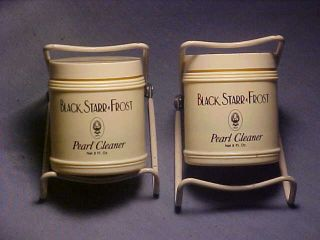 Black Starr Frost Pearl Cleaner Two 8 Ounce Bottles