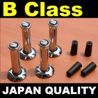 x4 AMG Design Mercedes Benz CHROME DOOR LOCK PINS B Class W245 B200