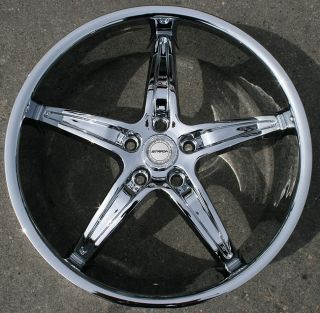 Strada Riga 20 Chrome Rims Wheels Mercedes C280