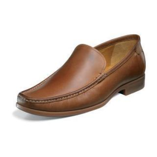 Florsheim Mens Interlude Saddle Tan Leather Toe Shoe 12090 257