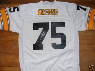 Mean Joe Greene Autographed Authentic Jersey Pittsburgh Steelers