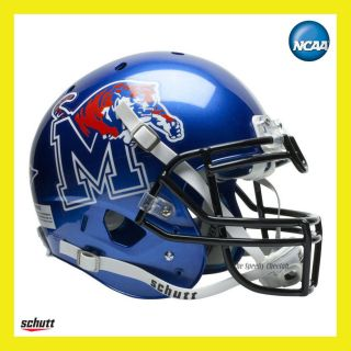 Memphis Tigers Official Full Size XP Replica Football Helmet by Schutt