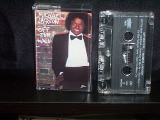 Michael Jackson Off The Wall RARE Aussie Cassette