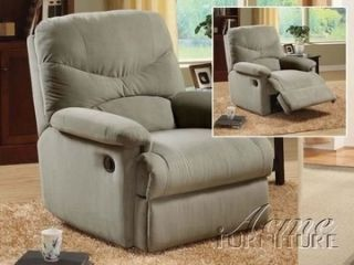 Brand NEW Acme Sage Microfiber Recliner chair light home theater soft