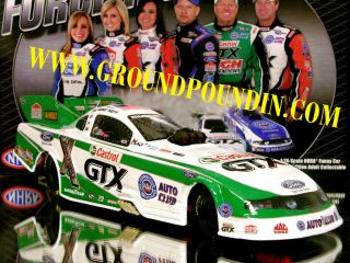 IN STOCK 2011 Mike Neff CASTROL GTX NHRA Ford Mustang Funny Car Lionel