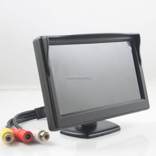 Mini 5 TFT LCD Car Monitor for Rear View Reverse Backup Camera CCTV
