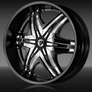 26 INCH ELITE RIMS & TIRES ESCALADE YUKON EXPEDITION
