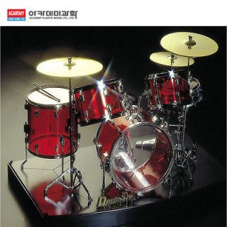 ACADEMY]Toy miniature 1/8th Scale CRYSTAL DRUM SET Mode Display