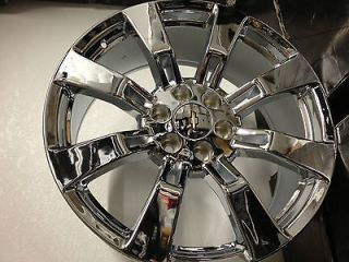 24 Inch Chrome Chevrolet Silverado Tahoe LTZ Factory OE GM Accessory