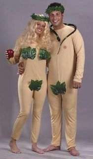 ADAM & EVE COSTUME SET FANCY DRESS NEW FW5068