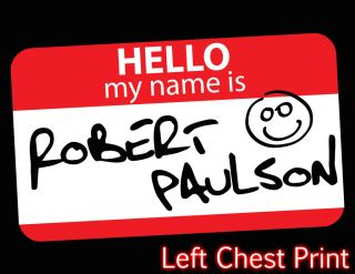 His Name is Robert Paulson / Fight Club inspired t shirt
