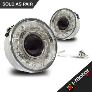 06 08 Ford F150 Fog Lights Clear Lens Halo Projector Fog Lamps PAIR