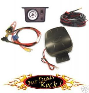 Air Lift Bag Control Kit Guage Switch Compressor 25592