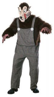 Adult Std. Scary Big Bad Wolf Costume   Adult Costume (1625)