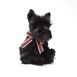 Black Scottish Terrier 8 DOG Gund Plush Toy NEW Adorable and Soft