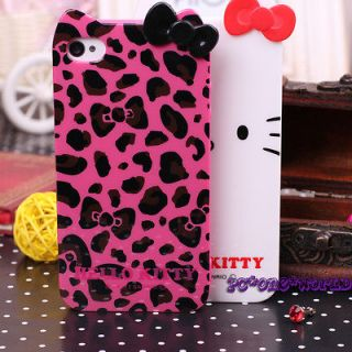 Cute hello kitty Cell Phone case cover skin for Apple iPhone 4/4S