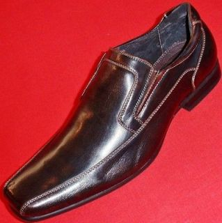 NEW Mens APT. 9 LEXINGTON Brown Loafers Slip On Formal Casual/Dress