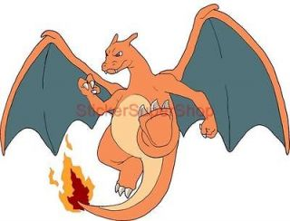 CHARIZARD Pokemon Decal Removable WALL STICKER Home Decor Art Room