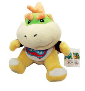 Super Mario Brothers Bowser Jr. 7 Plush Stuffed Doll Toy New/wtag