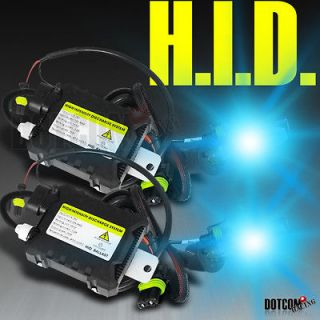 XENON H1 8000K SKY BLUE SLIM BALLAST HEADLIGHTS HID CONVERSION KIT