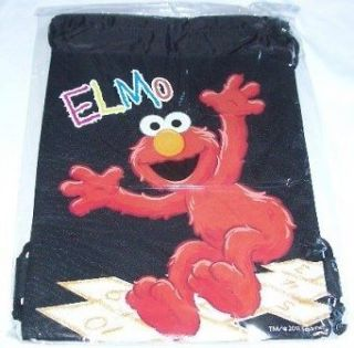 St Elmo Drawstring Backpack Kids Sling Tote Gym Bag Birthday Gift