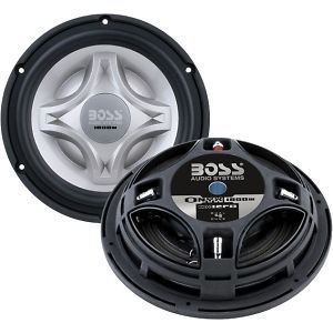 Boss Audio Car Audio/video NX12FD ONYX 12IN LOW PROFILE SUBWOOFER