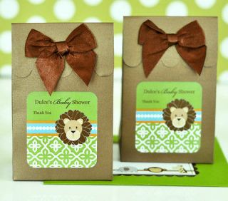 Jungle Safari Theme Baby Shower Birthday Candy Boxes Bags Favors