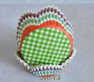 purple petals cupcake liners baking paper cup muffin case wrapper