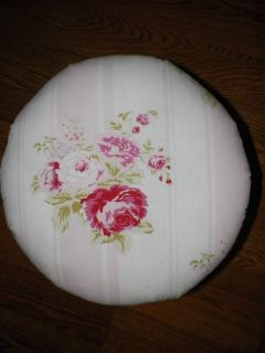 Shabby Rachel Ashwell Grand Floral Antique Footstool So Chic