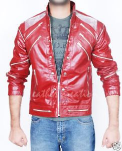 Michael Jackson Beat it Leather Jacket Free Billie Jean