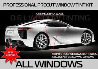 Chevy Camaro Precut Window Tint Kit All Windows (Fits 1969 Camaro)